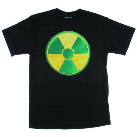 Marvel Comics Hulk Radiation Symbol Mens T-Shirt Avengers Superhero](Marvel Superhero Symbols)