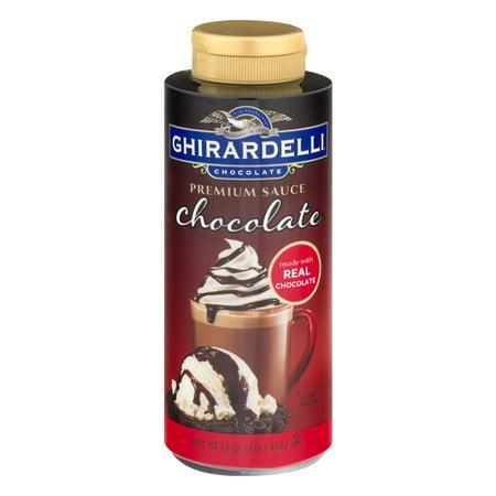 - (2 Pack) Ghirardelli Chocolate Premium Sauce Chocolate, 16.0 oz
