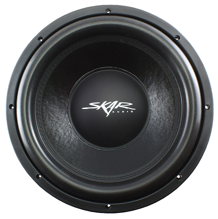 "Skar Audio VD12D4 12"" Shallow Mount Woofer 500W RMS Dual 4 Ohm"