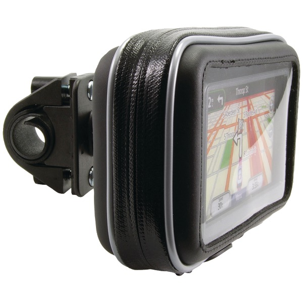 Arkon Bicycle/Motorcycle Handlebar Mount with Water-Resistant GPS Holder
