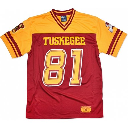 crimson Jersey Golden - Big Red Boy Tuskegee L S9 Football Tigers Mens