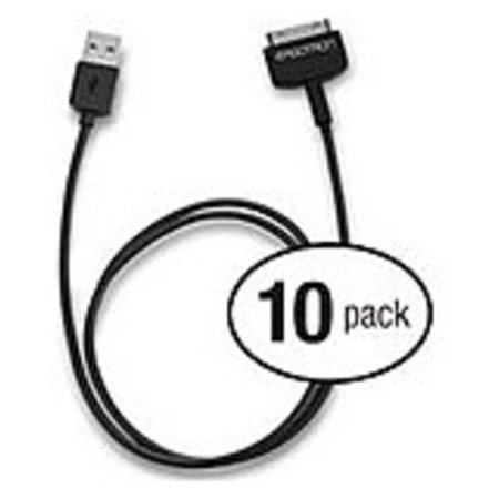 - Ergotron Tablet Management 30-Pin to USB Cable Kit, 76 cm Length - for iPad - USB/Proprietary for iPad, Tablet PC, iPhone, iPod - 2.49 ft - 10 Pack - 1 x Male Proprietary Connector - 1 x Type A Male