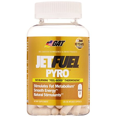GAT JetFuel PYRO 120 Tabs Fat Burning thermogénique Energy