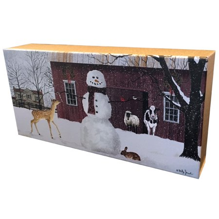 Keepsake Boxed Card (LPG Greetings Christmas in the Country : Billy Jacobs : Assortment of 16 Christmas Cards in Keepsake Box)