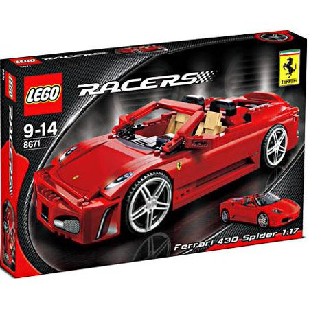 LEGO Ferrari 430 Spider 1:17 Model Replica