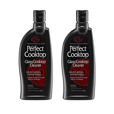 (2 Pack) Hope's Perfect Cooktop Cleaner, 10.6 (Cooktop Front Window)