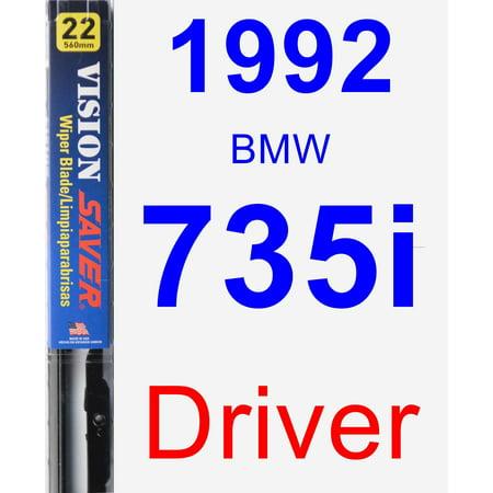 - 1992 BMW 735i Driver Wiper Blade - Vision Saver