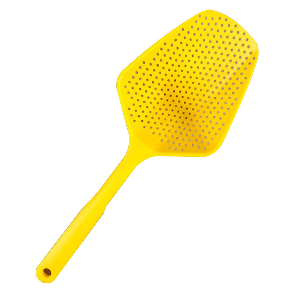 Big Spoon High Temperature Resistance Large Scoop Colander Pasta Heat Resistant Nylon Strainer