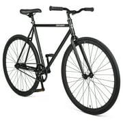 Retrospec Harper Single-Speed Fixie Style Urban Commuter Bike with Coaster Brake, Matte Black