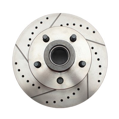GM Cross Drilled & Slotted Rotors Cross Drilled And Slotted Rotors
