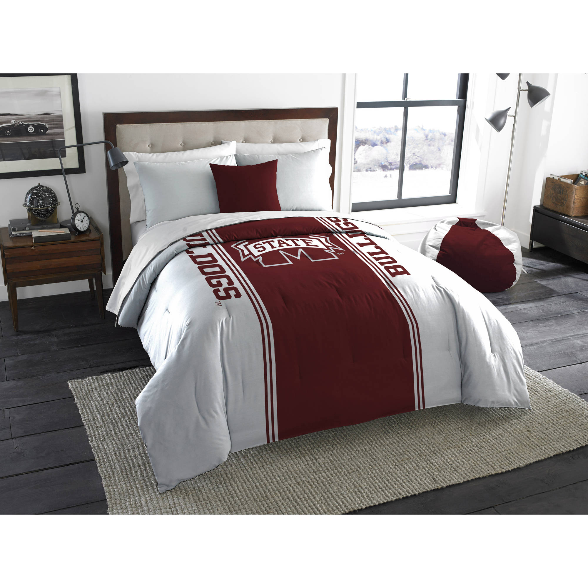 "NCAA Mississippi State Bulldogs ""Mascot"" Twin/Full Bedding Comforter"