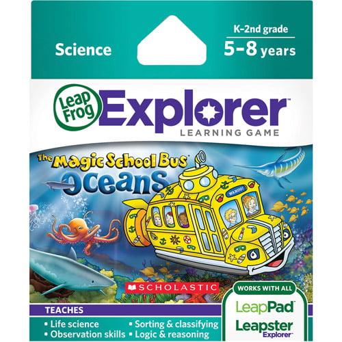 LeapFrog Explorer Learning Game, The Magic School Bus Oceans by LeapFrog