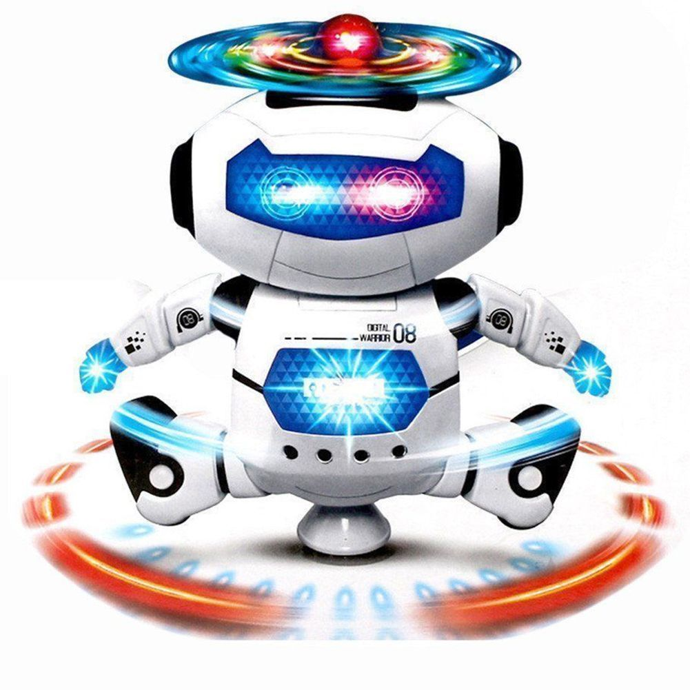 Toys For Boys Girls Robot Kid Toddler Robot 3 4 5 6 7 8 9 ...