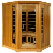 Crystal Sauna 4 Person Traditional Steam Sauna