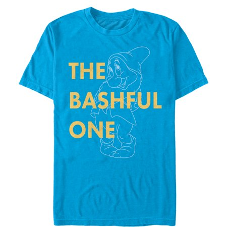 Snow White and the Seven Dwarves Men's Bashful One T-Shirt 7 For All Mankind Shirts