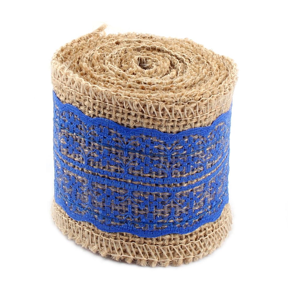 Dorm Room Decor Burlap DIY Gift Packing Belt Handcraft Ribbon Roll - image 2 de 4
