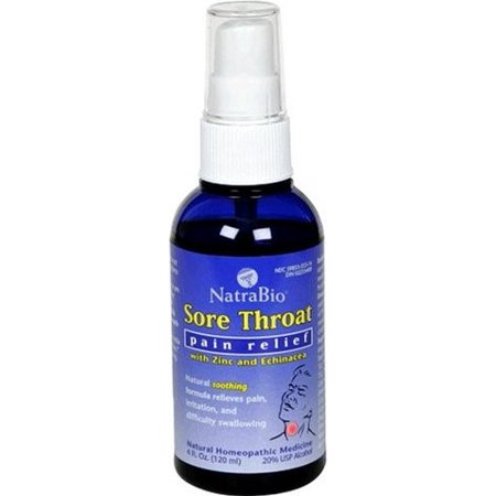 Natra Bio Sore Throat Spray, 4 Fl Oz