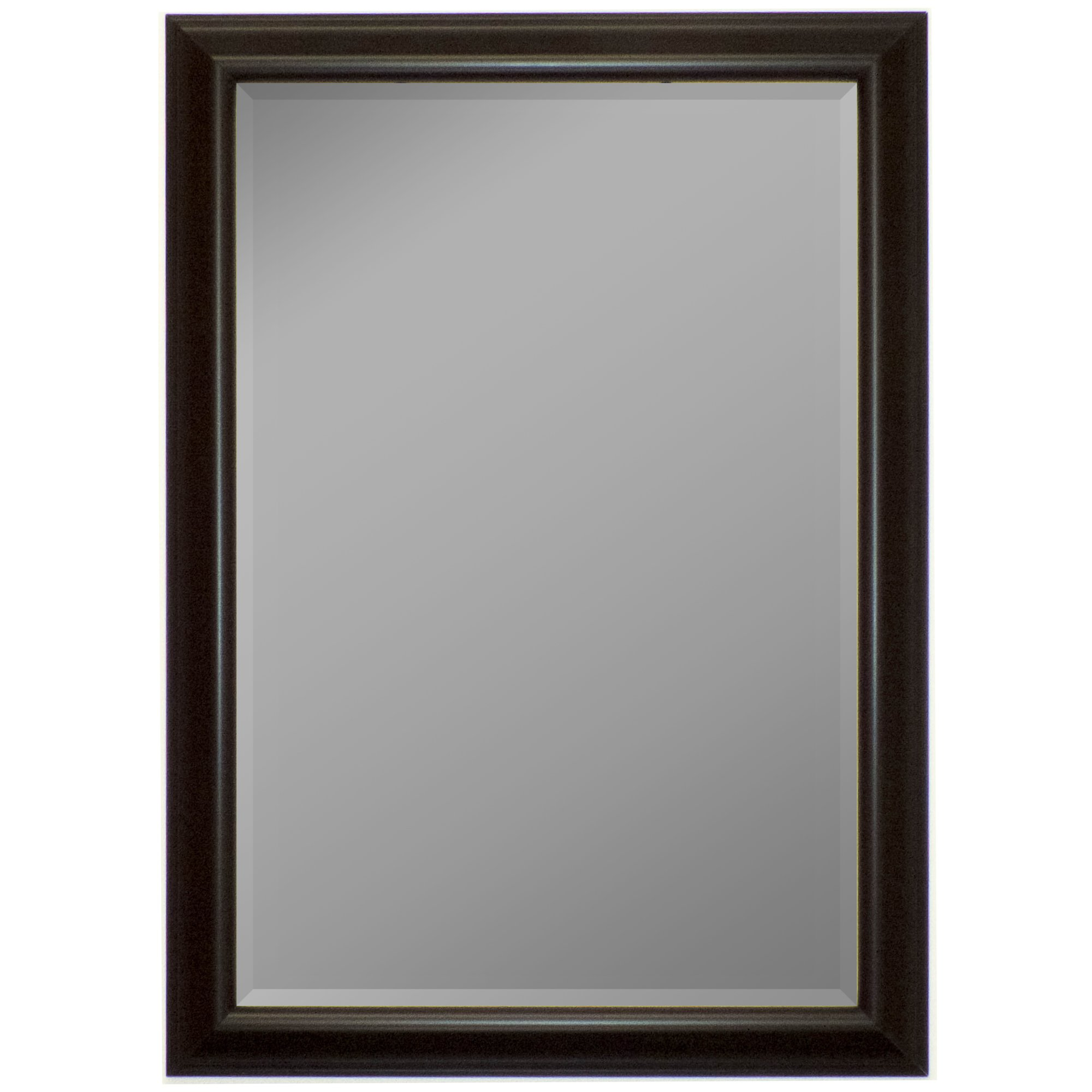 Hitchcock Butterfield Charcoal Gray Marbella Mirror by Hitchcock Butterfield