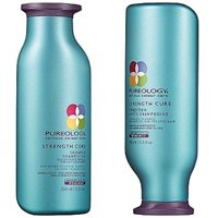 ($61 Value) Pureology Strength Cure Shampoo and Conditioner 8oz