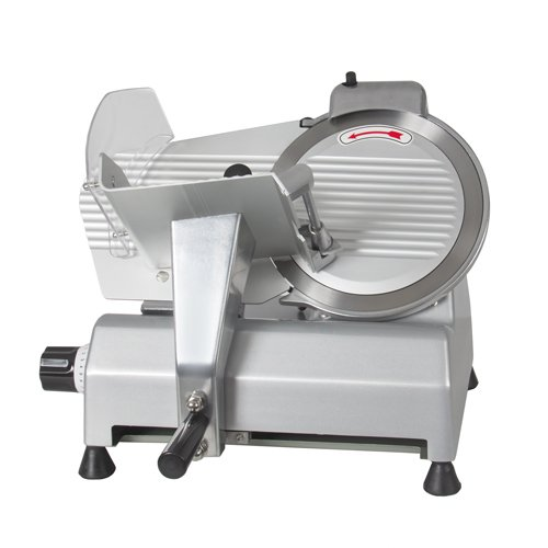 BestEquip Commercial Meat Slicer 10 Inch Electric Food Slicer 240W Heavy Duty Meat Slicer for Beef Venison Mutton Turkey