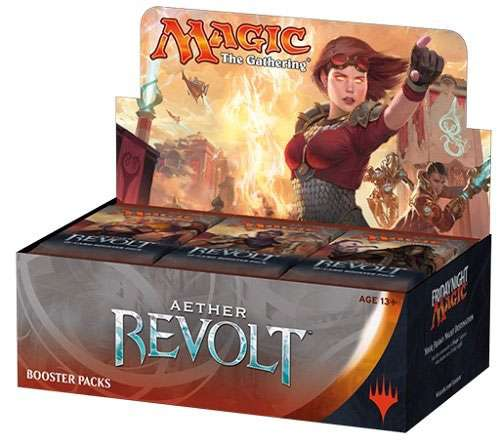 Magic The Gathering Aether Revolt Japanese Booster Box [36