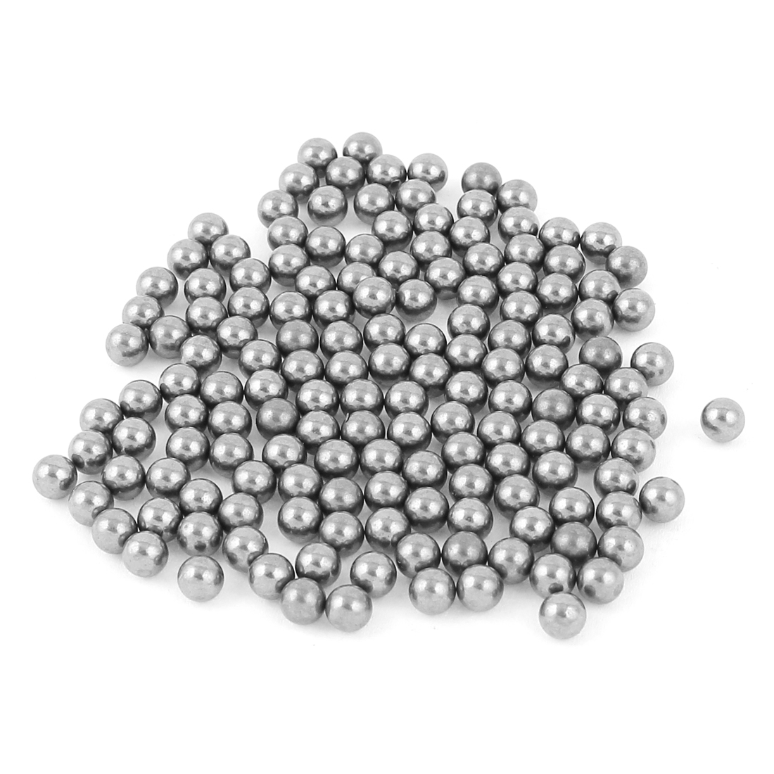 150pcs Carbon Steel Bike Bicycle Hardened Bearing Ball 5mm Gray