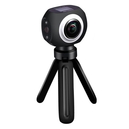 Poweradd VR Camera Wifi UHD 360 Degree Wide Angle Lens Wireless Panoramic  View Sports Action Camera with app control