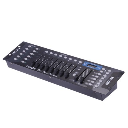 Lixada 192 Channels DMX512 Controller Console for Stage Light Party DJ Disco Operator Equipment - Party Equipment