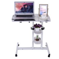 Iuhan Home Office Desk Can Be Raised And Lowered Folding Computer Desk 64cm*40cm