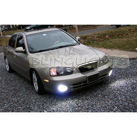2001 2002 2003 Hyundai Elantra Gls Led Fog Lamp Driving Light Kit