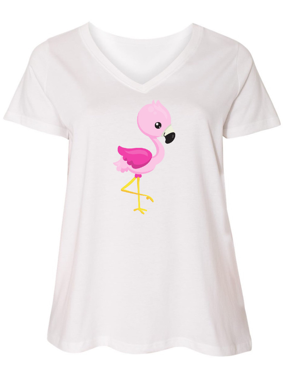 Baby Flamingo Cute Flamingo Baby T-Shirt inktastic Pink Flamingo
