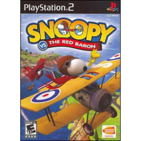 - Snoopy Vs. The Red Baron - PlayStation 2