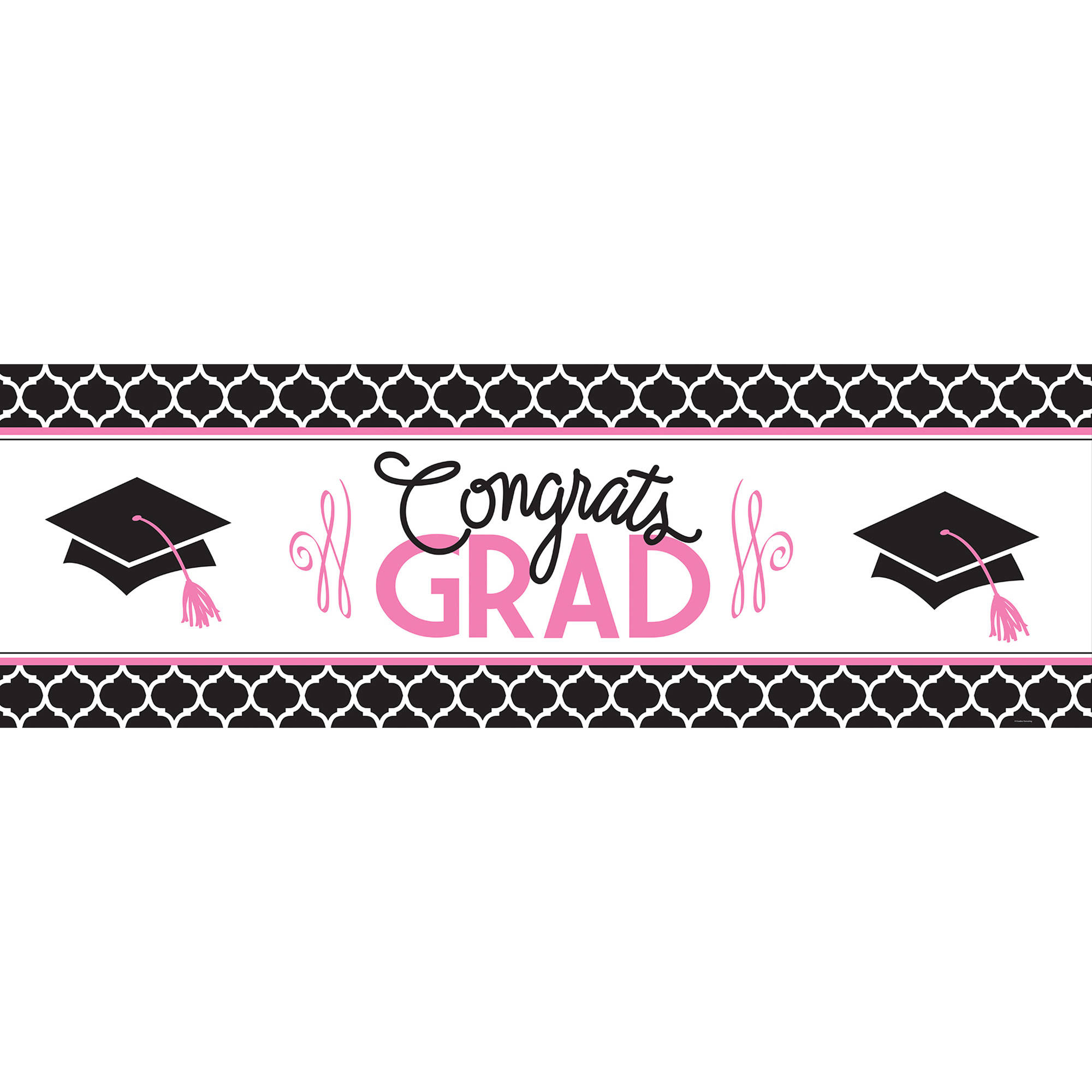 Glamorous Grad Giant Party Banner