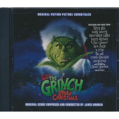 Dr. Seuss' How the Grinch Stole Christmas (Original Motion Picture Soundtrack) (CD) ()