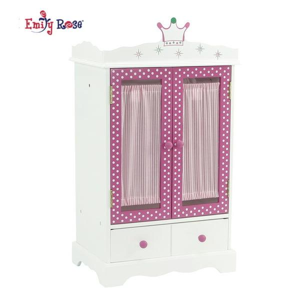 18 Inch Doll Wish Crown Storage, 18 Inch Doll Armoire