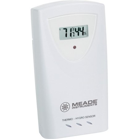 Meade Instruments Wireless Remote Temperature Humidity Sensor Weather (Wireless Remote Temperature Sensor)