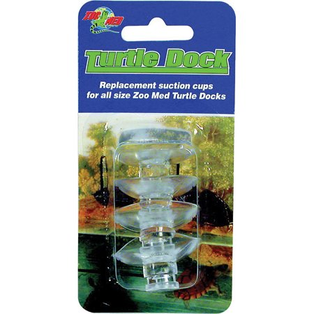 Zoo Med Laboratories Inc-Turtle Dock Replacement Suction Cups 4 (Zoo Med Laboratories Accents)