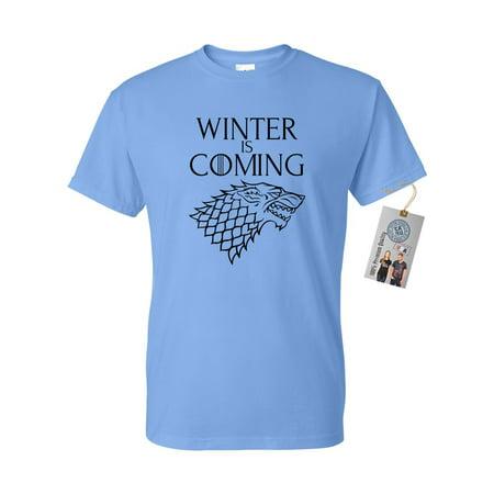 Games of Throne Winter is Coming Shirt Mens Womens Short Sleeve T-Shirt](Wet T Shirt Contest Winners)