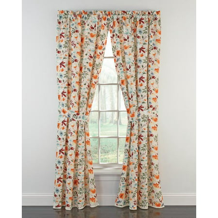 "The Pioneer Woman Willow Window Curtain Panel, 40""W x 84""L , Set of 2, Multiple Sizes - Walmart.com"