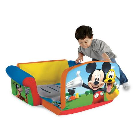 Marshmallow Furniture Childrens 2 In 1 Flip Open Foam Sofa Disney