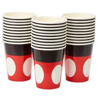 American Greetings Mickey Mouse 9 oz Paper Cups, 30-Count