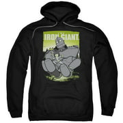 The Iron Giant Helping Hand Mens Pullover Hoodie