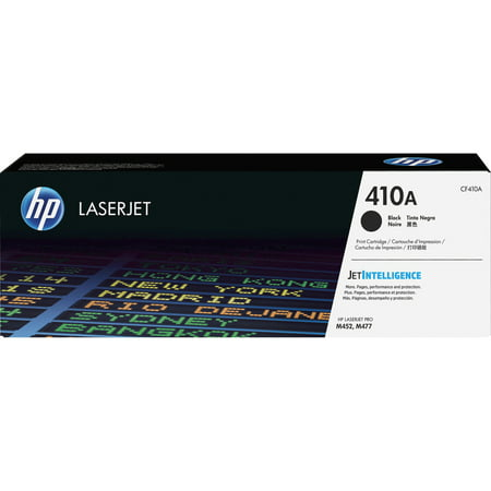 Hp Cc532a Yellow Toner - HP 410A (CF410A) Black Original LJ Toner Cartridge