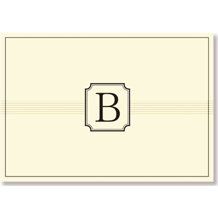 Monogram Note Cards   B