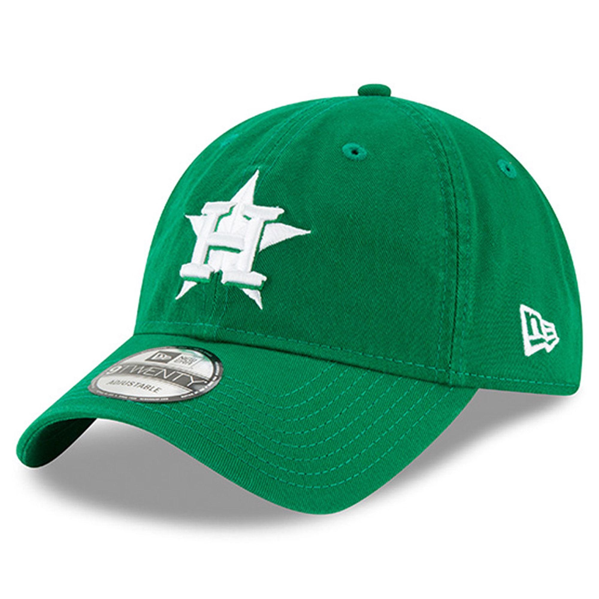 Houston Astros New Era Women's 2018 St. Patrick's Day Prolight 9TWENTY Adjustable Hat - Green - OSFA