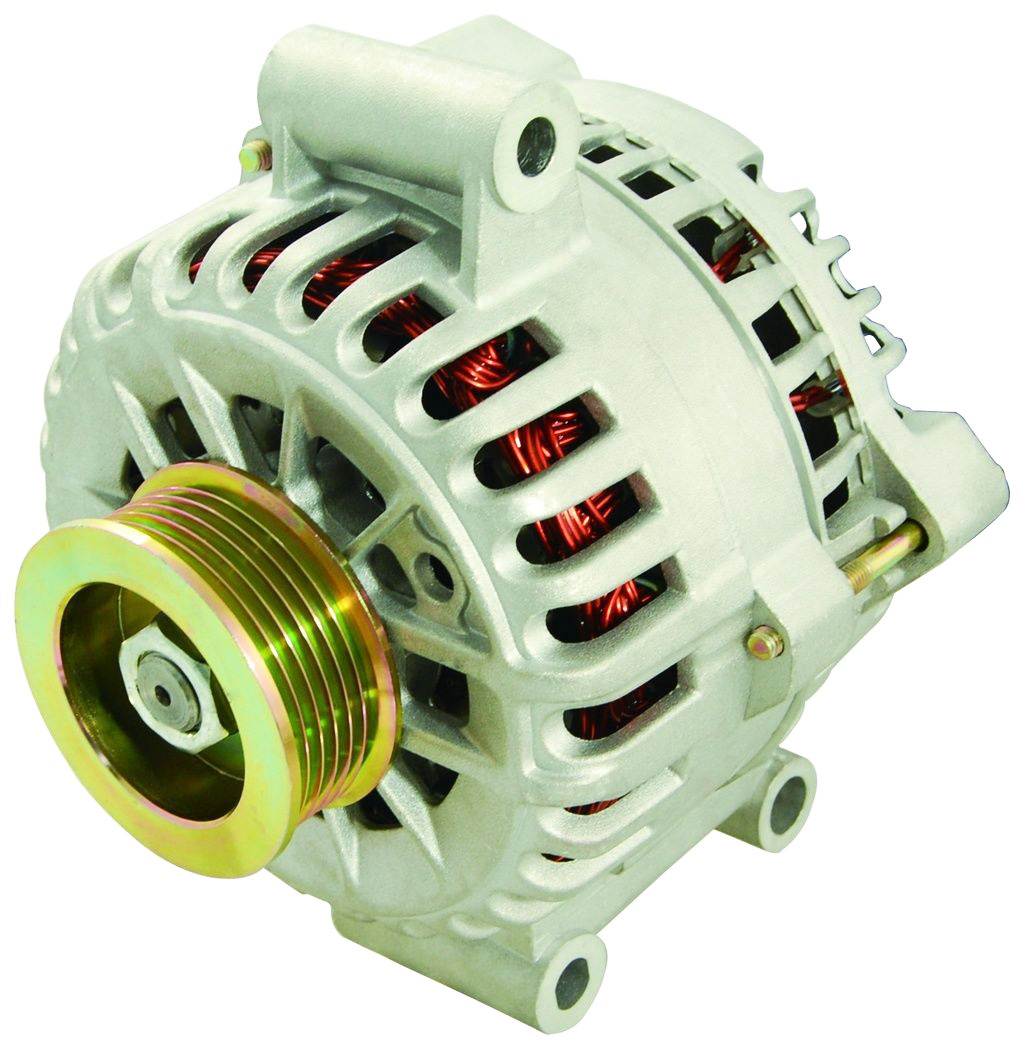 NEW ALTERNATOR FOR 1999 2000 2001 2002 2003 FORD WINDSTAR 3.8L 3.8 V6 (232) With Pulley