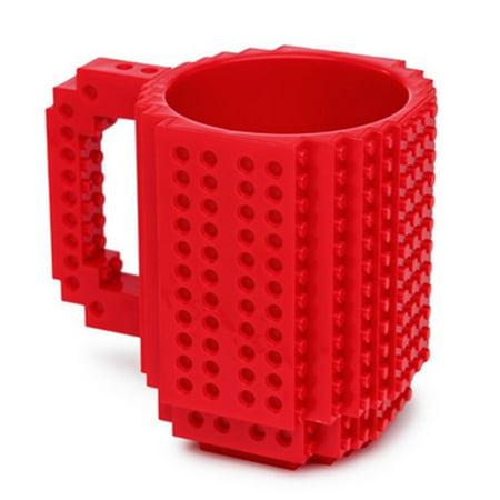 DIY Creative Lego Brick Building Mug Assemble Puzzle Blocks Gift Cup (9 Colors) - image 7 of 12