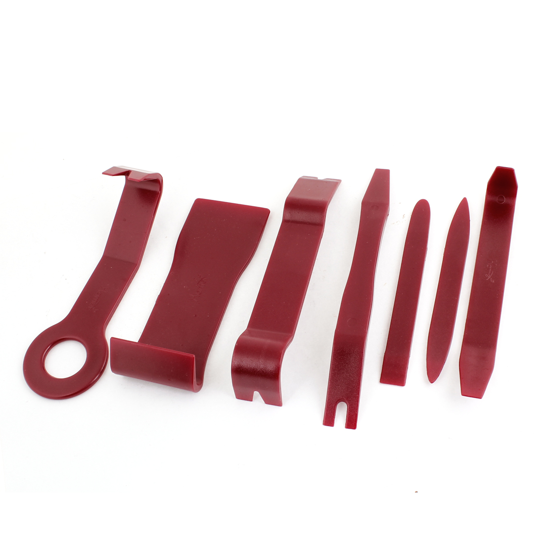 Unique Bargains Burgundy Audio Loudspeaker Repair Removal Dismantle Tools for Van Car 7 Pcs