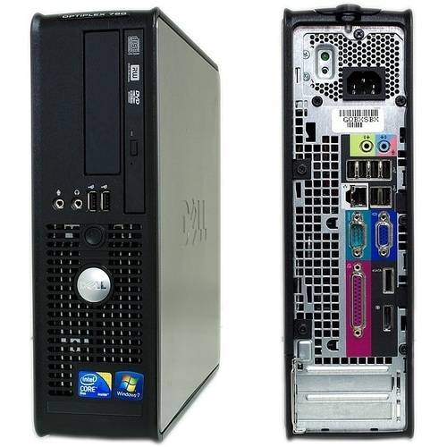 Refurbished Dell Optiplex 780 Small Form Factor Desktop PC with Intel Core 2 Duo Processor, 8GB Memory, 1TB Hard Drive and Windows 7 Professional (Monitor Not Included)