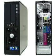 Refurbished Dell Optiplex 780 Small Form Factor Desktop PC with Intel Core 2 Duo Processor, 8GB Memory, 1TB Hard Drive and Windows 10 Pro (Monitor Not )
